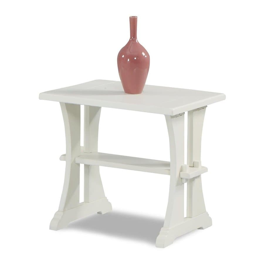 Klaussner Santa Cruz White Poplar End Table