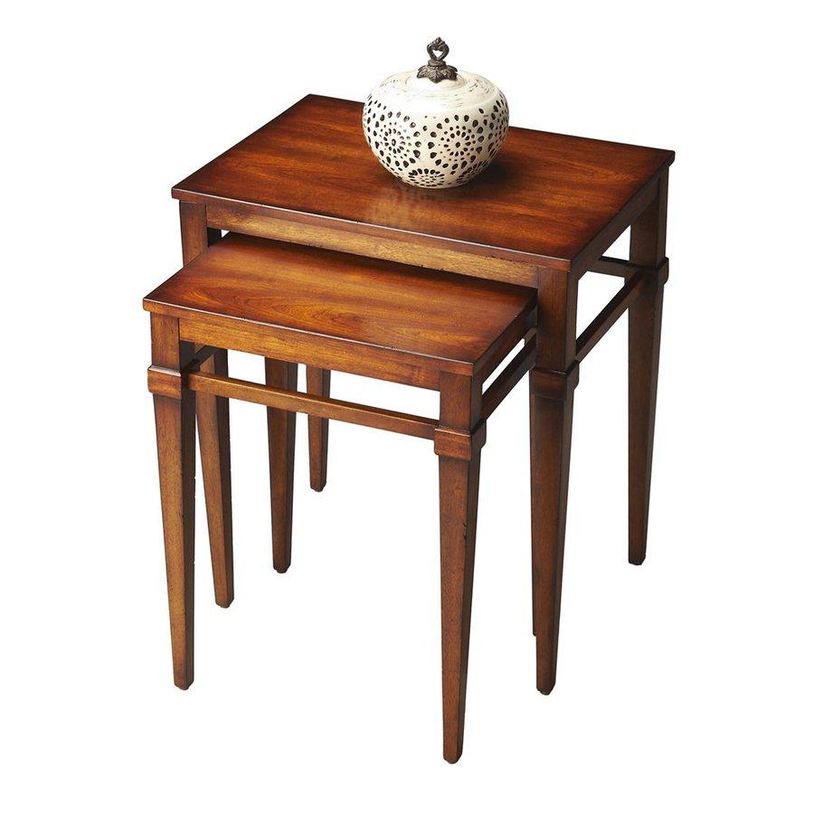 Butler Specialty Loft 2-Piece Antique Cherry Accent Table Set