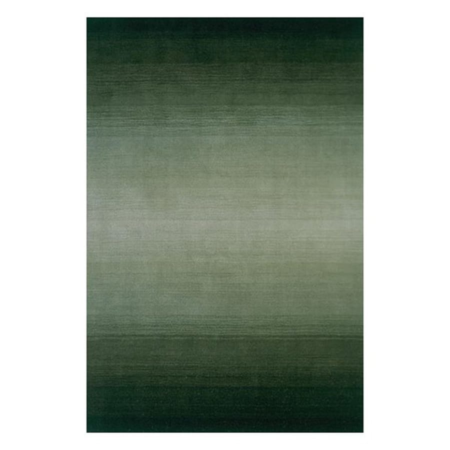 Momeni Metro Forest green Rectangular Indoor Handcrafted Area Rug (Common: 2 X 4; Actual: 2.25-ft W x 3.75-ft L)
