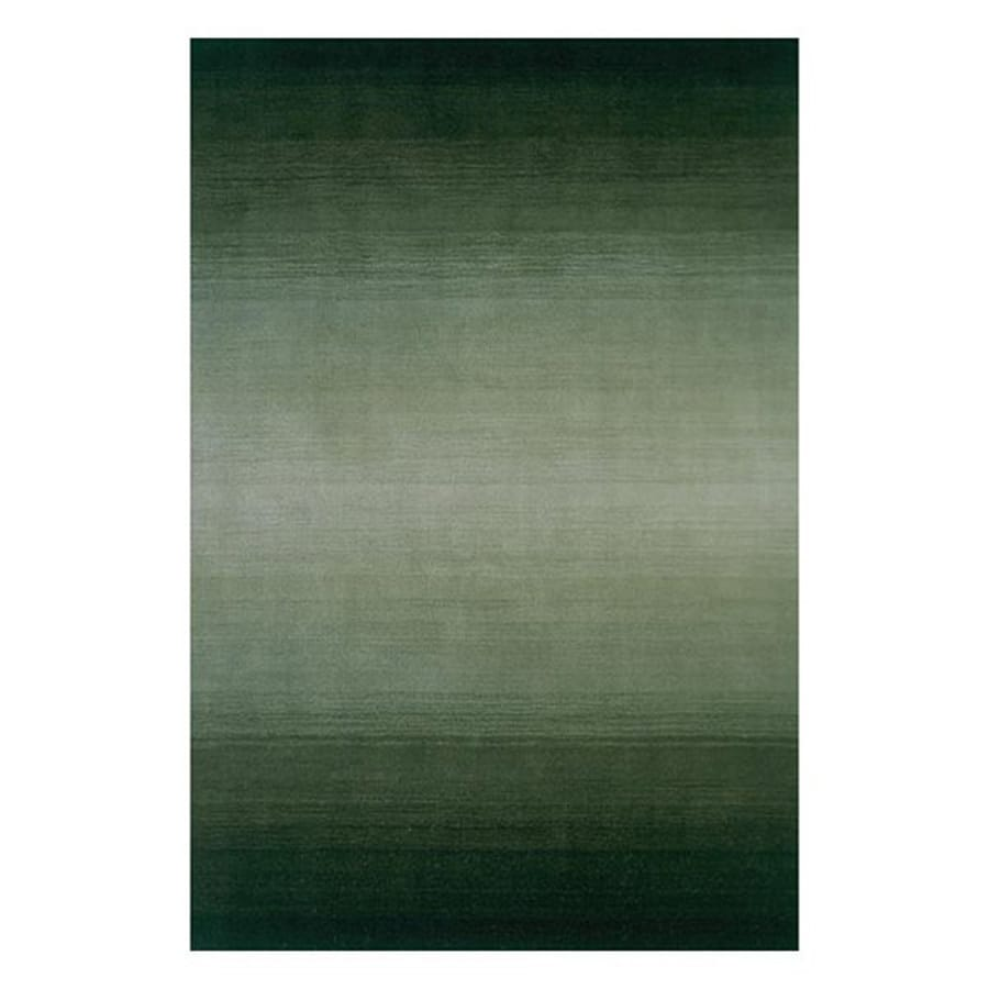 Momeni Metro Forest green Rectangular Indoor Handcrafted Area Rug (Common: 8 X 11; Actual: 8-ft W x 11-ft L)