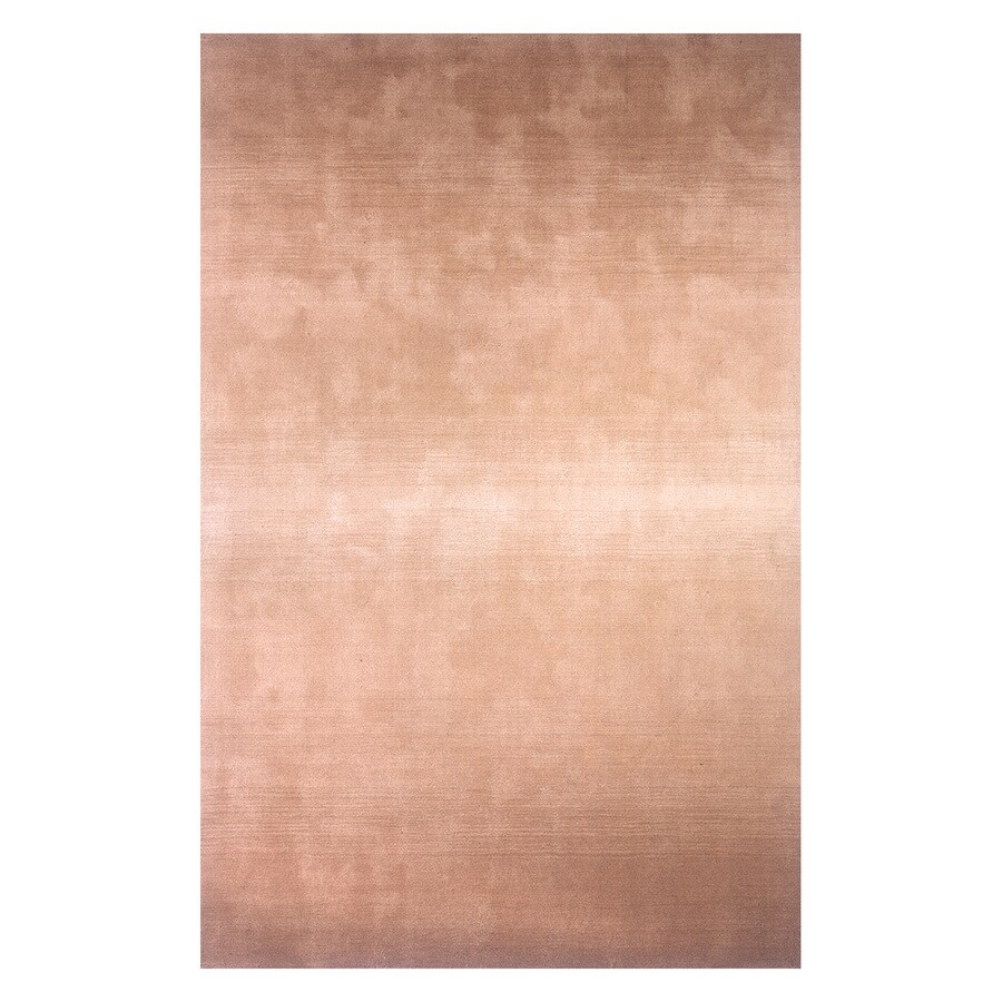 Momeni Metro Light brown Rectangular Indoor Handcrafted Area Rug (Common: 3 X 5; Actual: 3.25-ft W x 5.25-ft L)