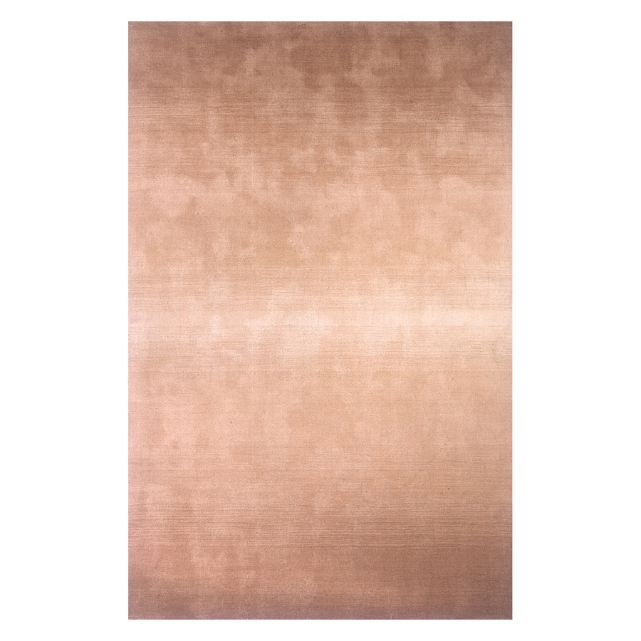 Momeni Metro Light brown Rectangular Indoor Handcrafted Area Rug (Common: 5 X 8; Actual: 5-ft W x 8-ft L)