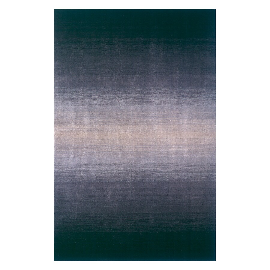 Momeni Metro Midnight black Rectangular Indoor Handcrafted Area Rug (Common: 2 X 4; Actual: 2.3-ft W x 3.9-ft L)