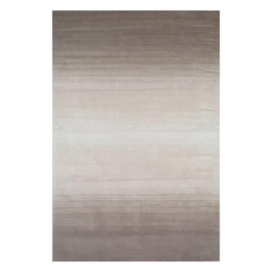 Momeni Metro Taupe Rectangular Indoor Handcrafted Area Rug (Common: 5 X 8; Actual: 5-ft W x 8-ft L)