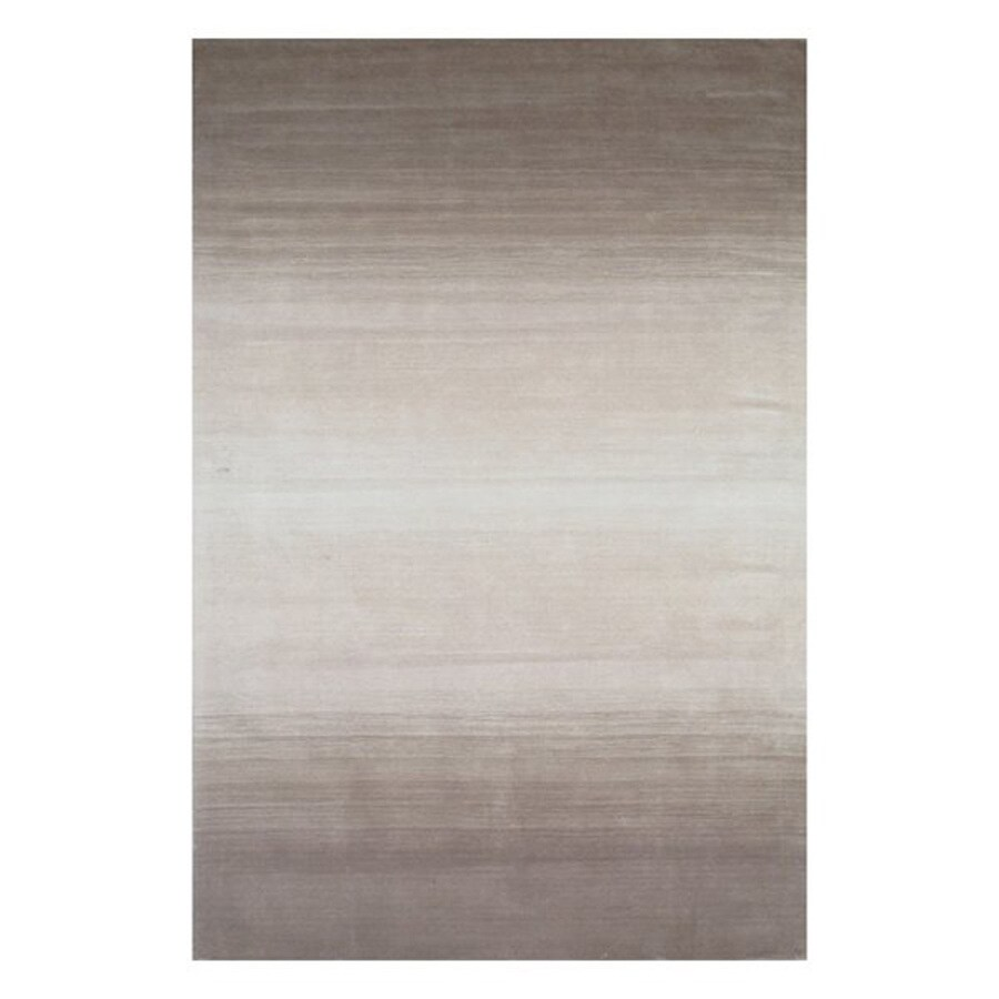 Momeni Metro Taupe Rectangular Indoor Handcrafted Area Rug (Common: 10 X 14; Actual: 9.5-ft W x 13.5-ft L)