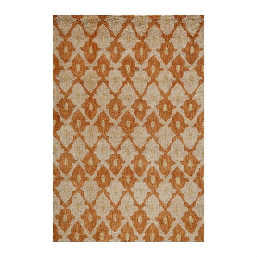 Momeni Rio Orange Rectangular Indoor Area Rug (Common: 8 X 10; Actual: 8-ft W x 10-ft L)
