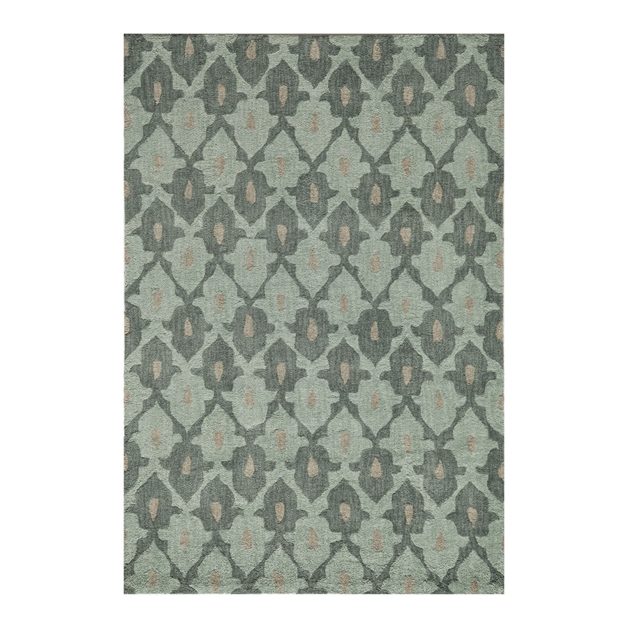 Momeni Rio Teal Rectangular Indoor Throw Rug (Common: 2 X 3; Actual: 2-ft W x 3-ft L)