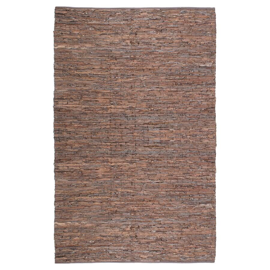 ST CROIX TRADING Matador Brown Rectangular Indoor Handcrafted Area Rug (Common: 10 X 14; Actual: 10-ft W x 14-ft L)