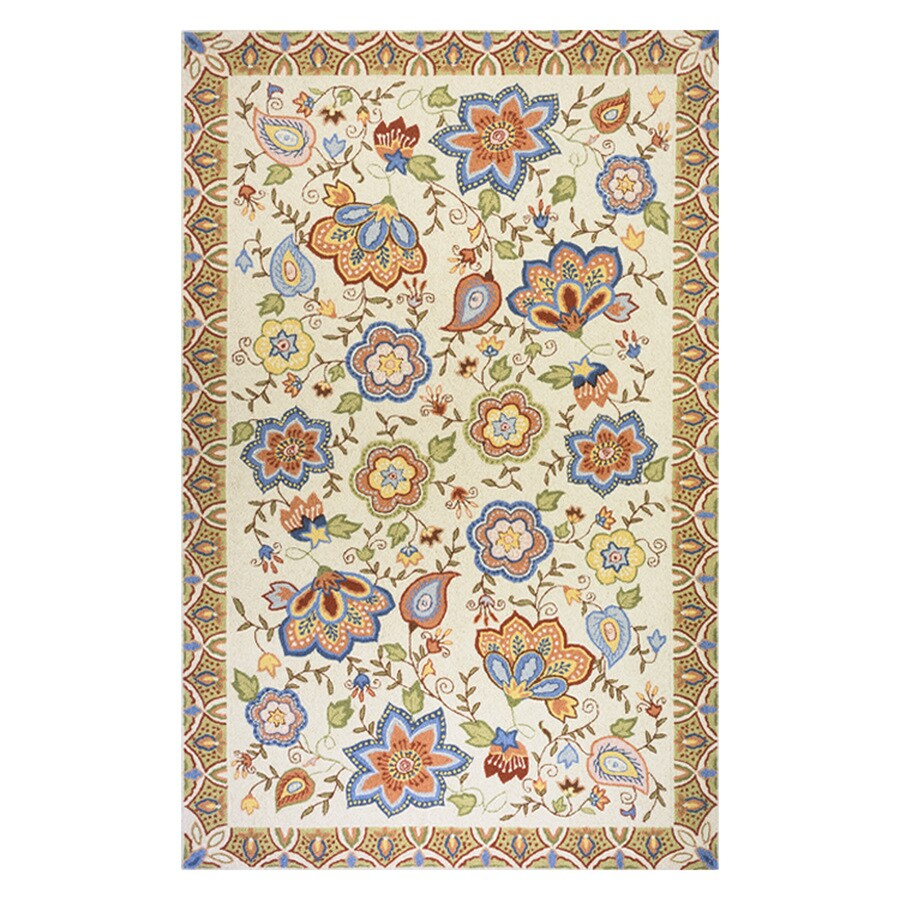 Momeni Spencer Beige Rectangular Indoor Handcrafted Nature Area Rug (Common: 8 X 11; Actual: 8-ft W x 11-ft L)