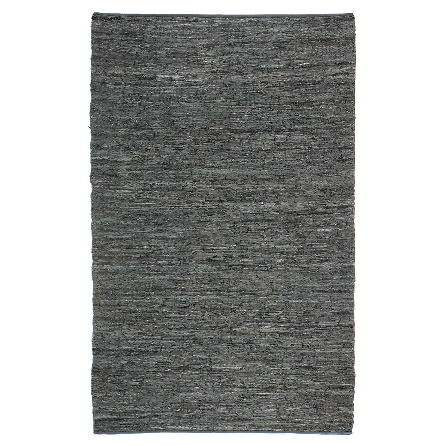 ST CROIX TRADING Matador Black Rectangular Indoor Handcrafted Area Rug (Common: 10 X 14; Actual: 10-ft W x 14-ft L)