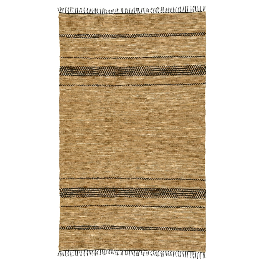 ST CROIX TRADING Matador Tan Rectangular Indoor Handcrafted Southwestern Area Rug (Common: 10 X 14; Actual: 10-ft W x 14-ft L)