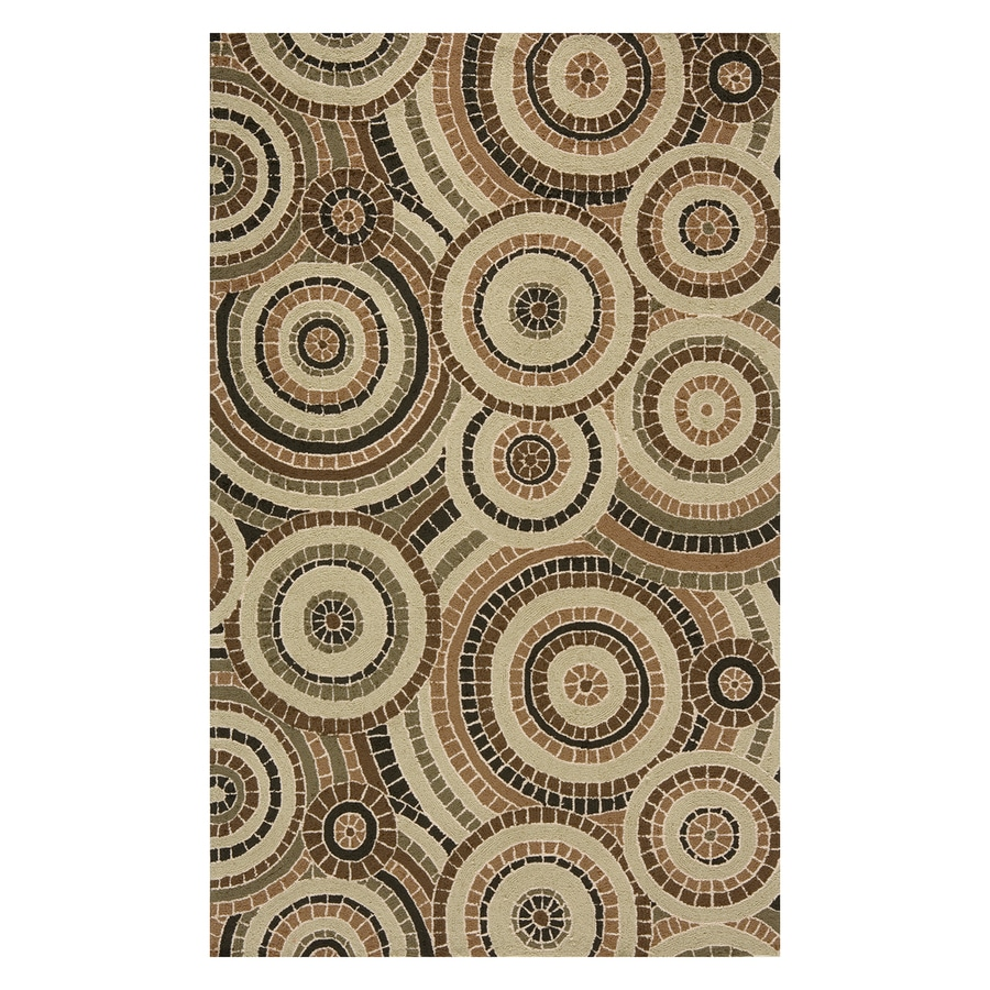 Momeni Veranda Multi Colored Indoor Outdoor Handcrafted Area Rug Common 8 X