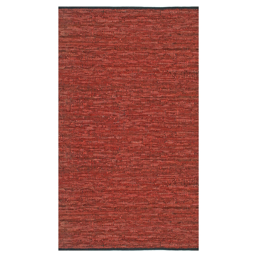 ST CROIX TRADING Matador Copper Rectangular Indoor Handcrafted Area Rug (Common: 5 X 8; Actual: 5-ft W x 8-ft L)