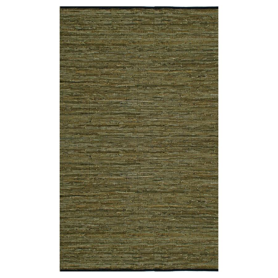 ST CROIX TRADING Matador Green Rectangular Indoor Handcrafted Area Rug (Common: 8 X 10; Actual: 8-ft W x 10-ft L)