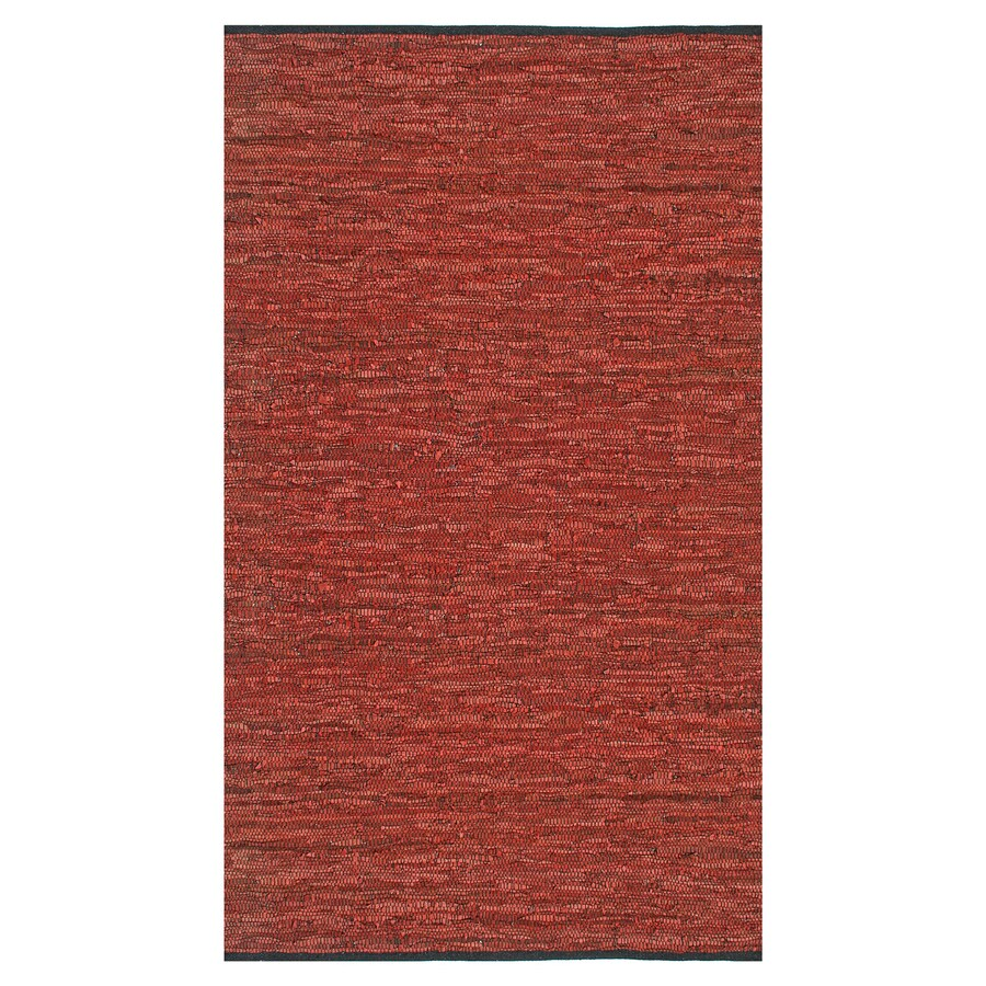 ST CROIX TRADING Matador Copper Rectangular Indoor Handcrafted Area Rug (Common: 8 X 10; Actual: 8-ft W x 10-ft L)