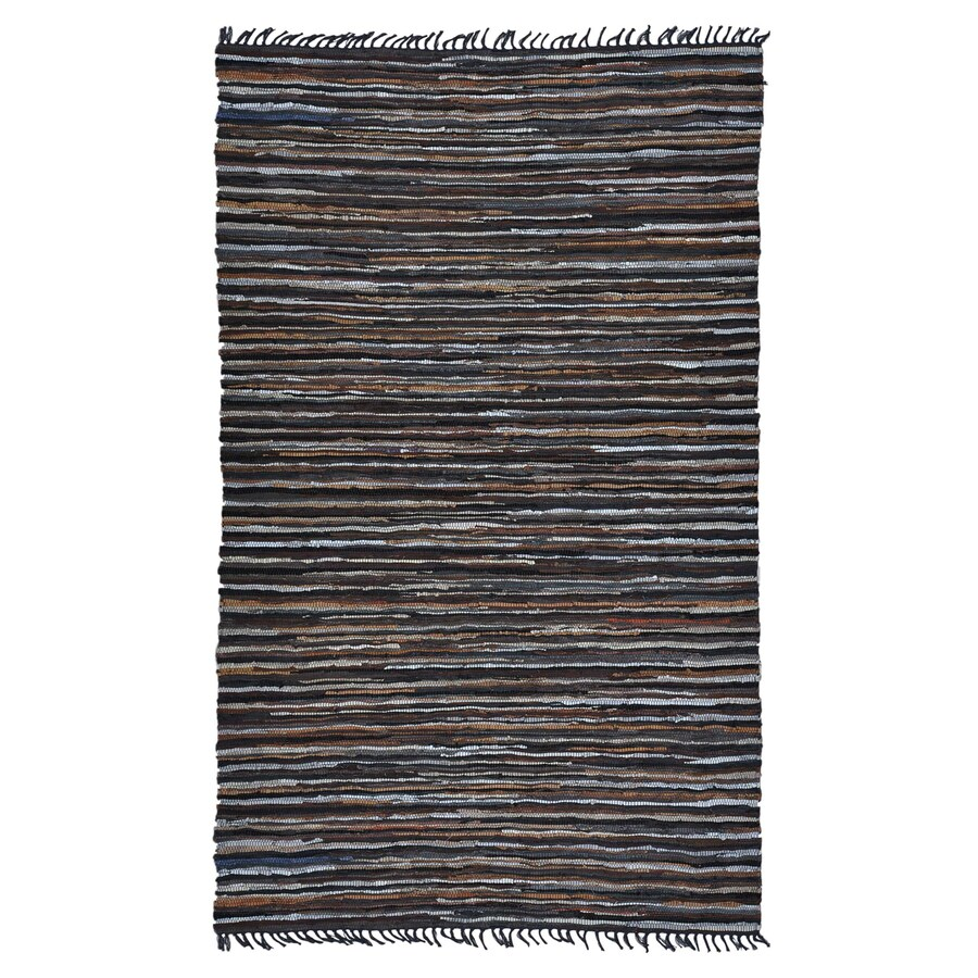 ST CROIX TRADING Matador Brown Rectangular Indoor Handcrafted Area Rug (Common: 8 X 10; Actual: 8-ft W x 10-ft L)