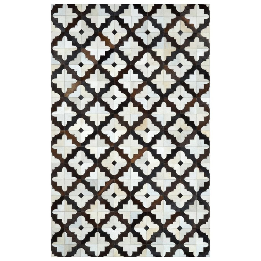 nuLOOM Charcoal Rectangular Indoor Handcrafted Area Rug (Common: 5 X 8; Actual: 5-ft W x 8-ft L)