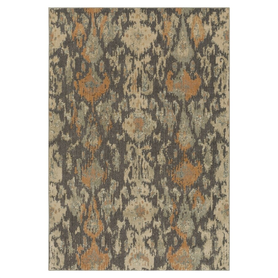 Surya Arabesque Multicolor Rectangular Indoor Machine-made Area Rug (Common: 5 x 7; Actual: 5-ft 3-in W x 7-ft 3-in L)