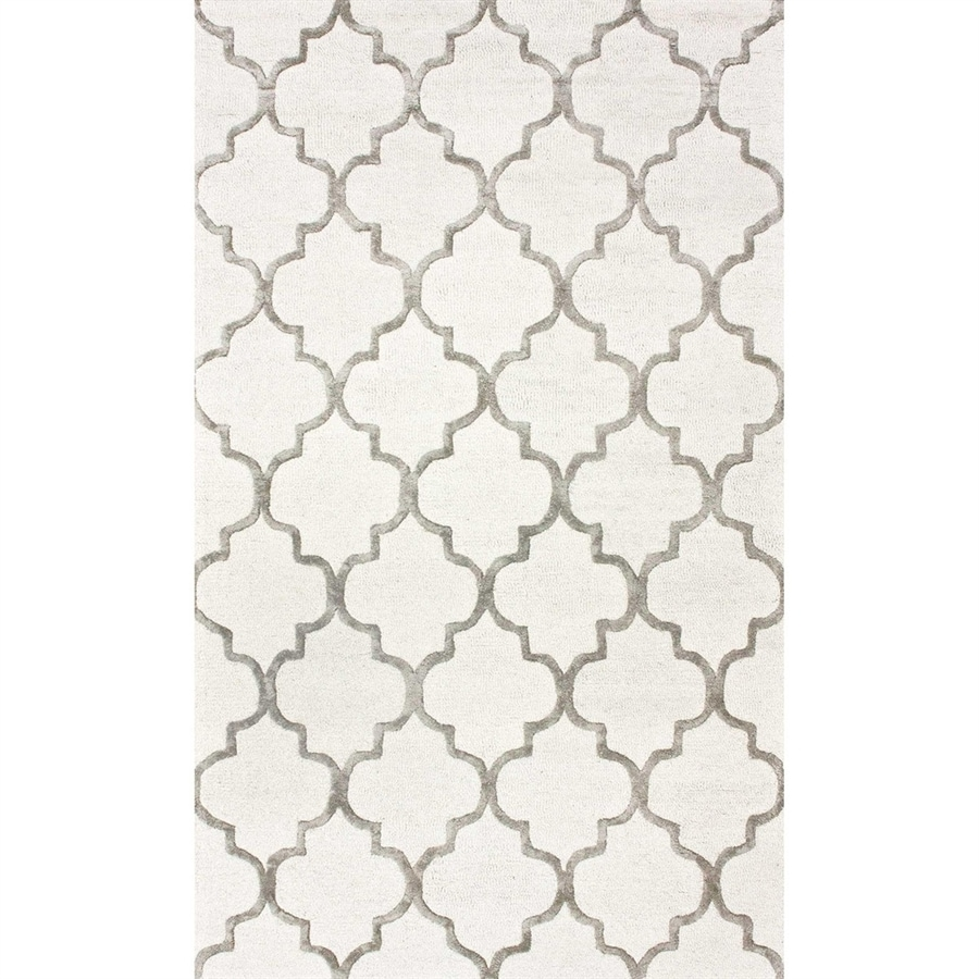 nuLOOM Nickel Rectangular Indoor Handcrafted Area Rug (Common: 6 X 9; Actual: 6-ft W x 9-ft L)