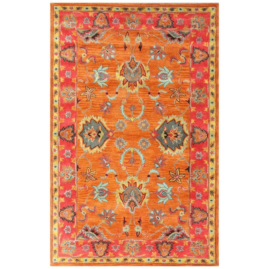 nuLOOM Multi Rectangular Indoor Handcrafted Moroccan Area Rug (Common: 8 X 10; Actual: 7.5-ft W x 9.5-ft L)