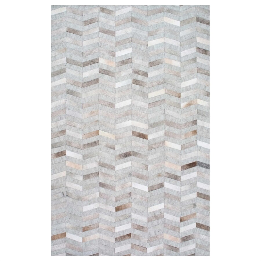 nuLOOM Silver Rectangular Indoor Handcrafted Area Rug (Common: 8 X 10; Actual: 8-ft W x 10-ft L)