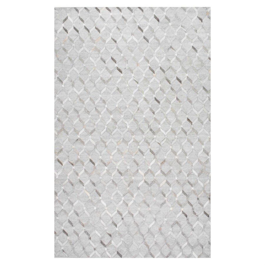 nuLOOM Grey Rectangular Indoor Handcrafted Area Rug (Common: 9 X 12; Actual: 9-ft W x 12-ft L)