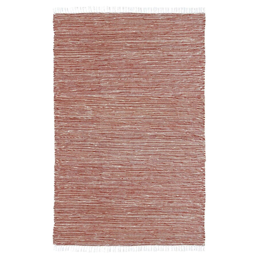 ST CROIX TRADING Complex Copper Rectangular Indoor Handcrafted Area Rug (Common: 4 X 6; Actual: 4-ft W x 6-ft L)