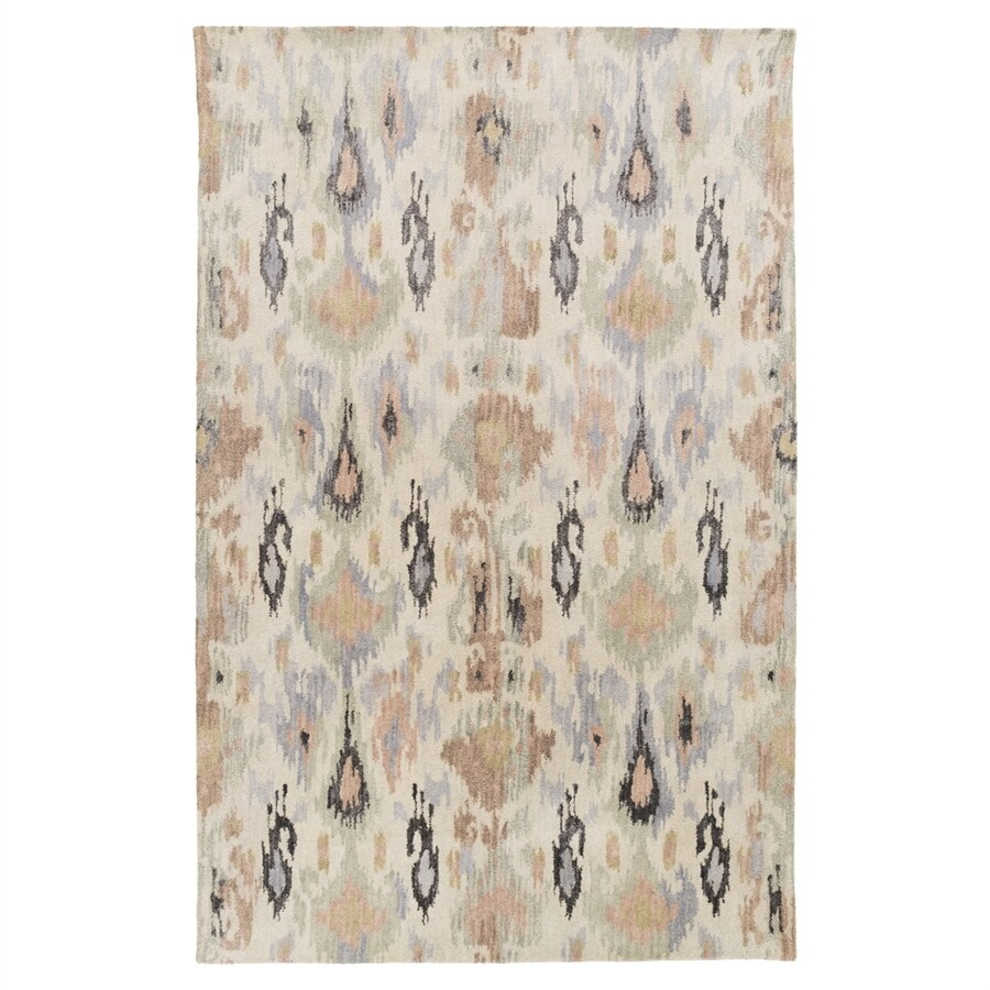 Surya Banshee Pink Rectangular Indoor Handcrafted Area Rug (Common: 5 x 8; Actual: 5-ft W x 8-ft L)