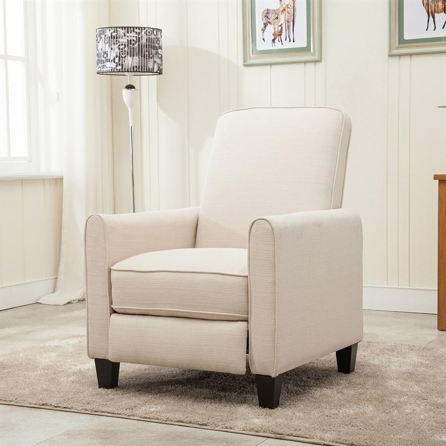 NobleHouse Phoenix Casual Cream Linen Accent Chair