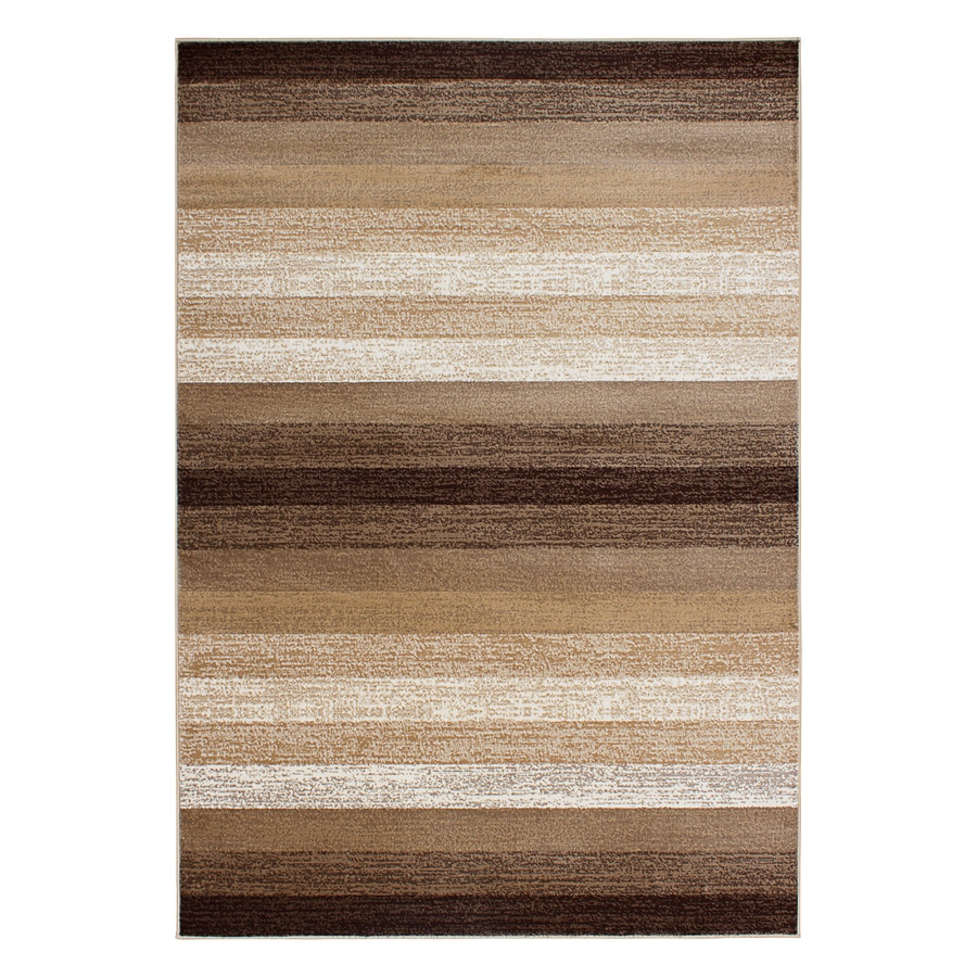 Segma Alberta Dark beige Rectangular Indoor Machine-made Throw Rug (Common: 2 X 3; Actual: 2-ft W x 3-ft L)