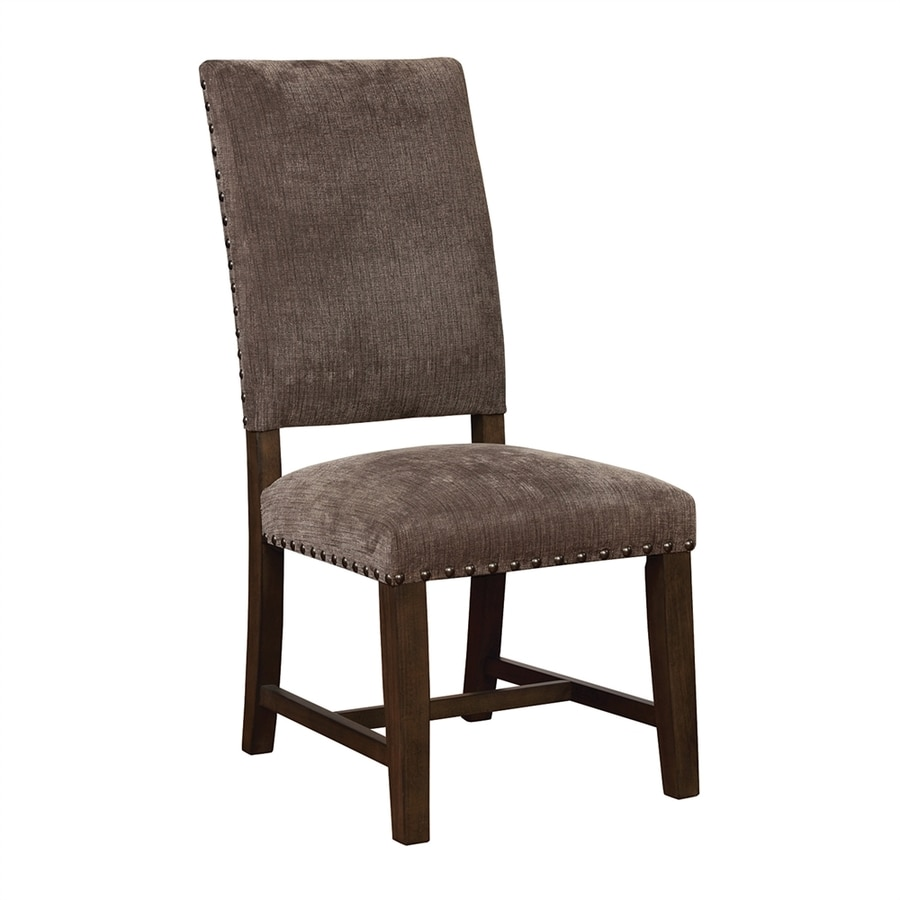 Scott Living Set of 2 Warm Grey Parsons Chairs