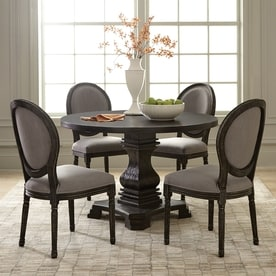 Slate grey sheepskin rug single - Round Table Top Lowes Lifetime Products 72in X 30in