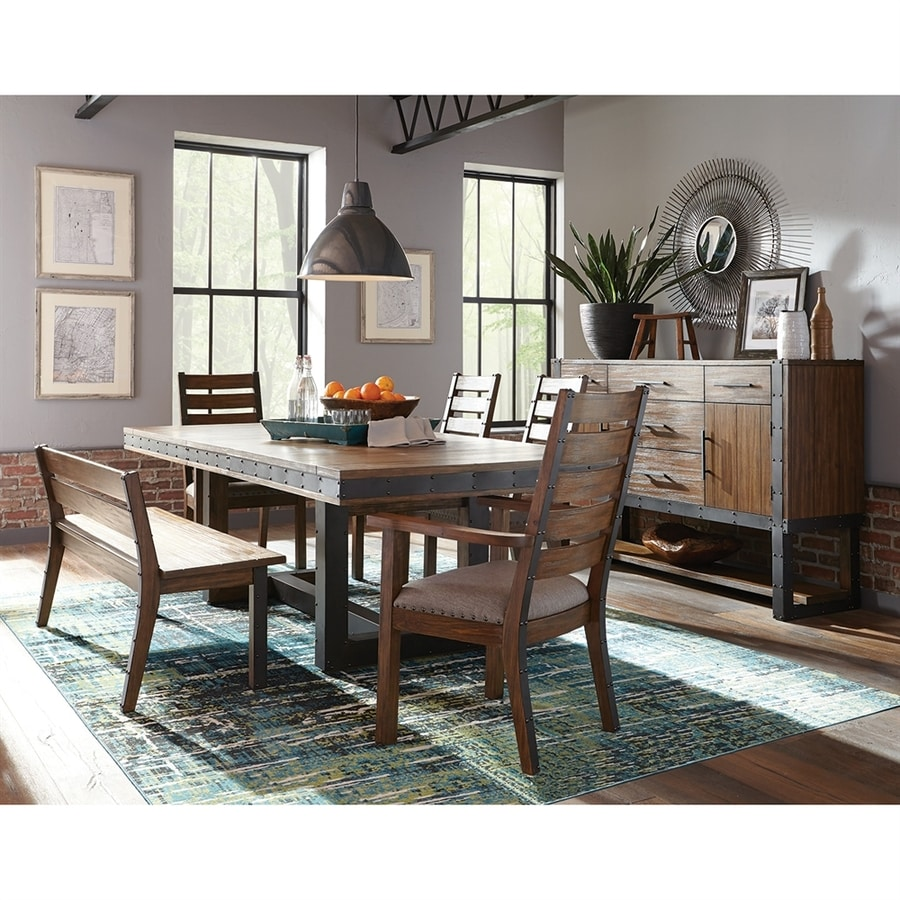Scott Living Vintage Bourbon Extending Dining Table