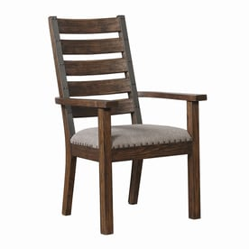 scott living set of 2 grey arm chairs