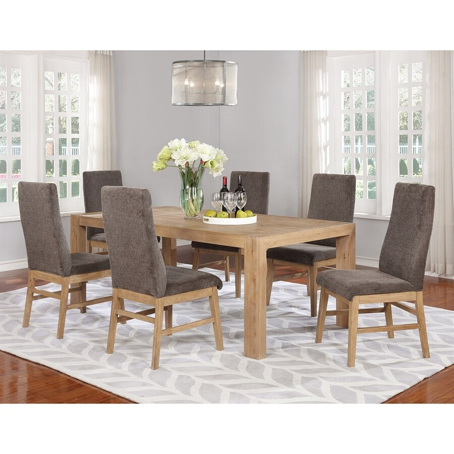 Scott Living Drifted Acacia Wood Dining Table