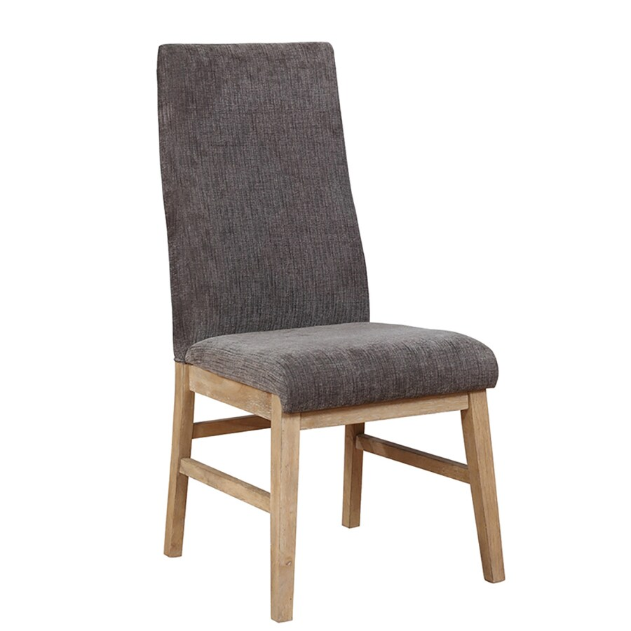 Scott Living Set Of 2 Grey Parsons Chairs