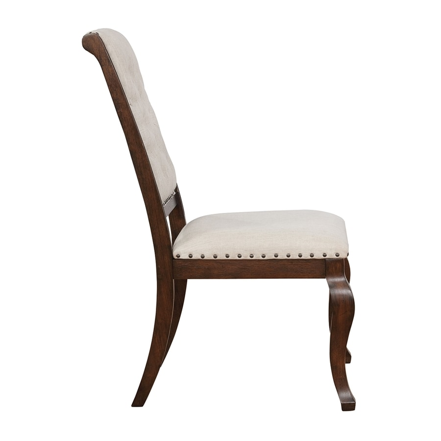 Scott Living Set of 2 Traditional Cream Side Chairs