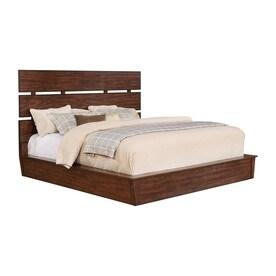 High Quality Scott Living Dark Cocoa Platform Bed