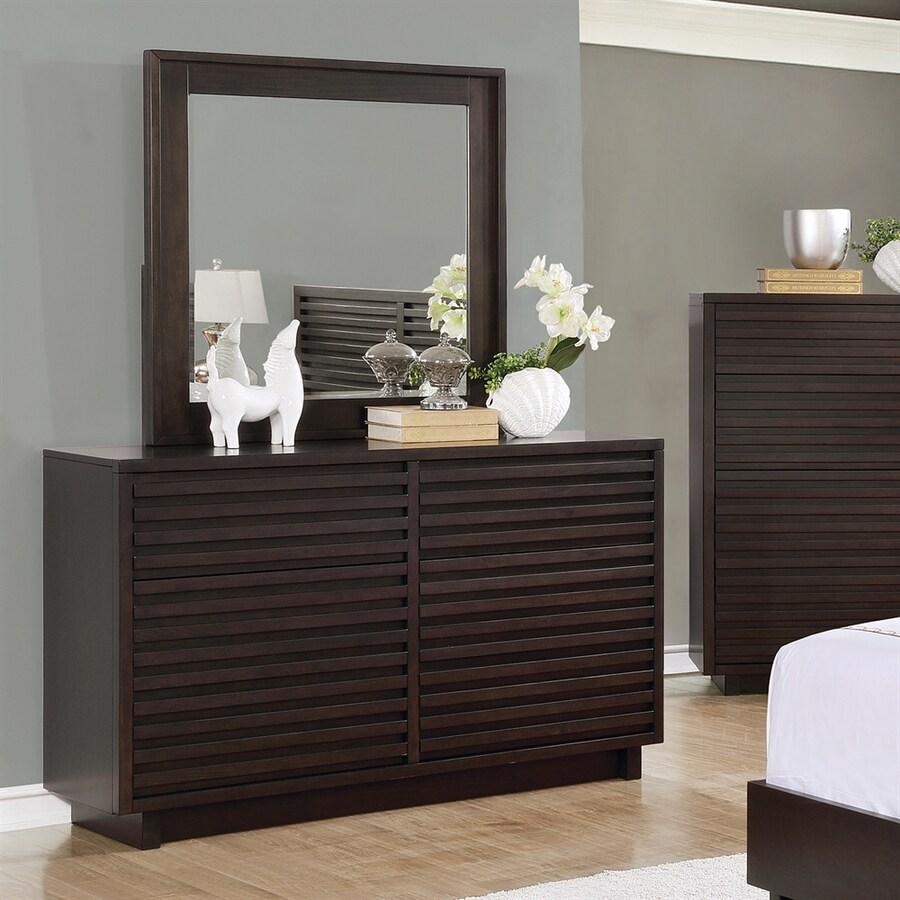 Scott Living Matheson Graphite Poplar Double Dresser