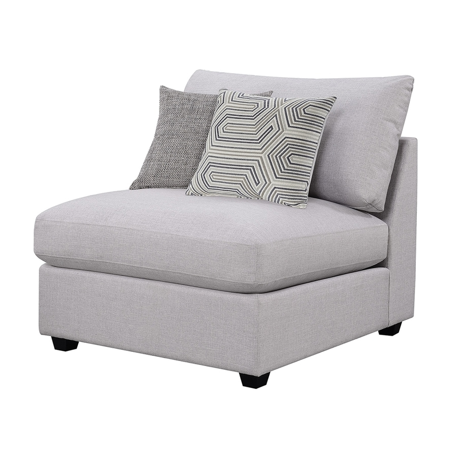Scott Living Casual Gray Accent Chair