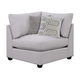 Scott Living Casual Gray Corner Chair