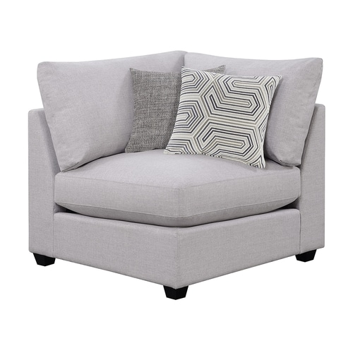 Scott Living Causal Grey Accent Chair: Scott Living Casual Gray Corner Chair At Lowes.com