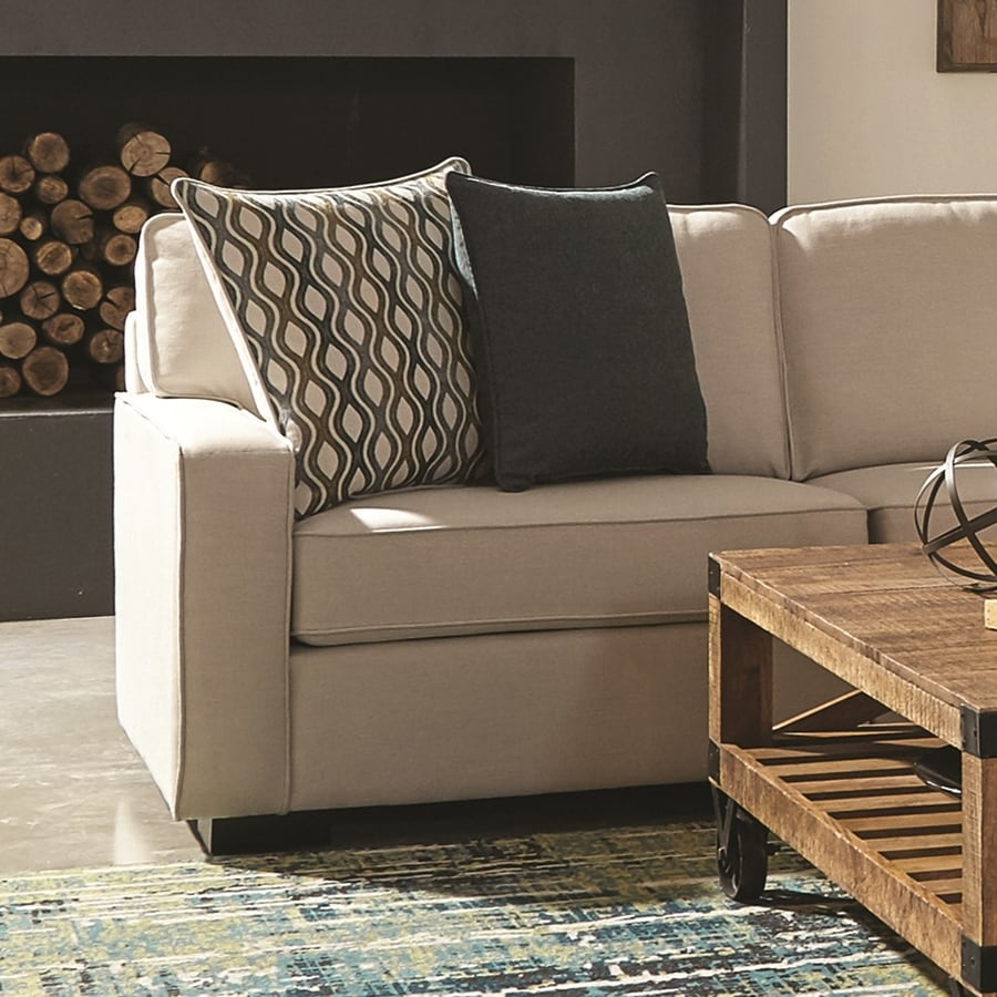 Scott Living Wylder Casual Ivory/Espresso Sectional Left Arm Chair