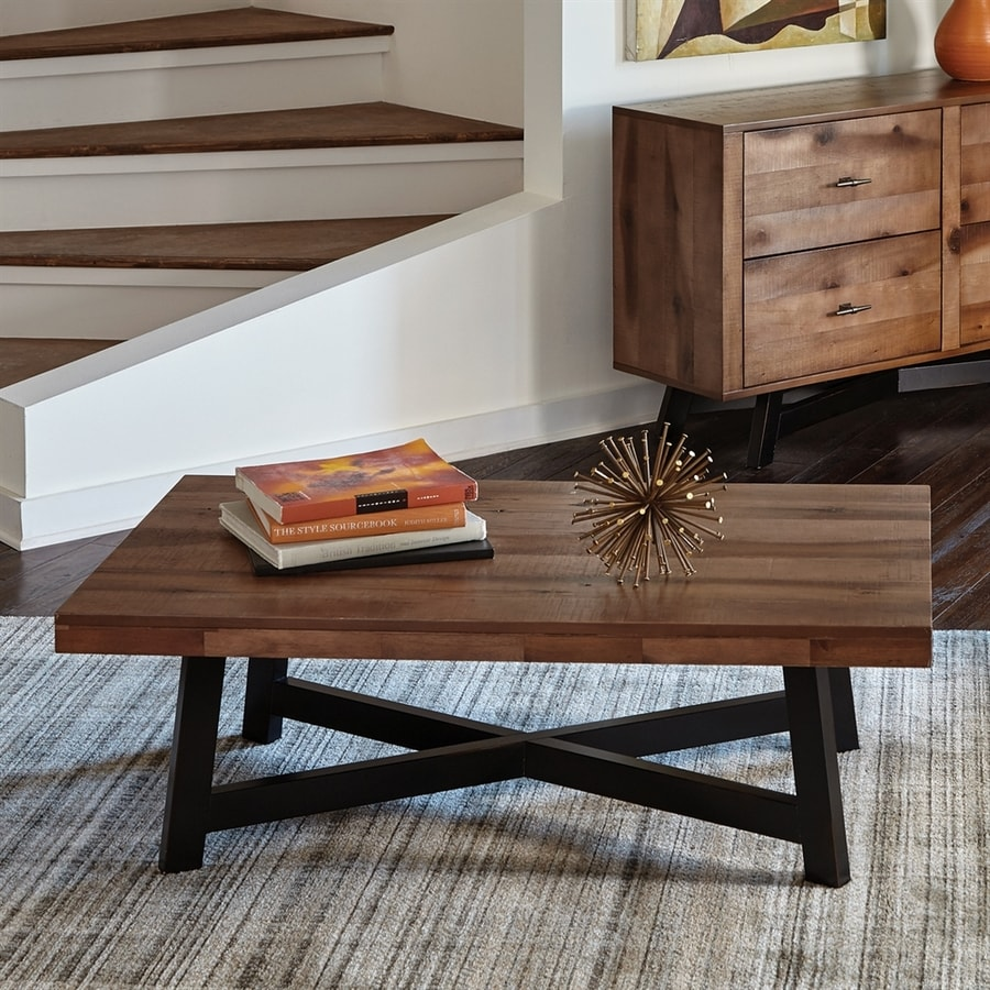 hardwood coffee table diy scott living naomi ash asian hardwood coffee table at lowescom