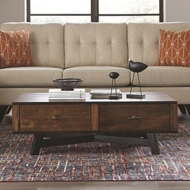 Scott Living Tobacco Asian Hardwood Coffee Table Part 72