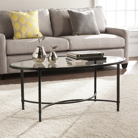 Boston Loft Furnishings Quinlan Clear Glass Coffee Table