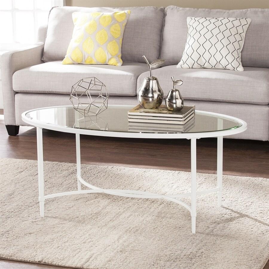 Boston Loft Furnishings Quinlan Glass Coffee Table