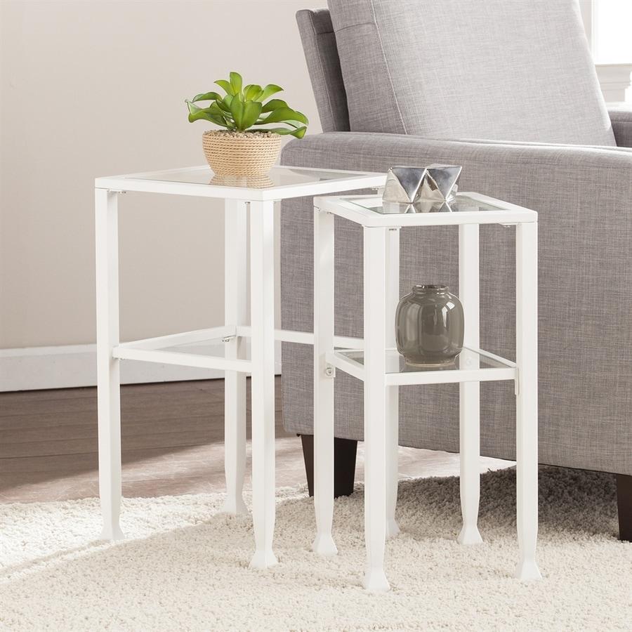 Boston Loft Furnishings Lea 2-Piece Accent Table Set