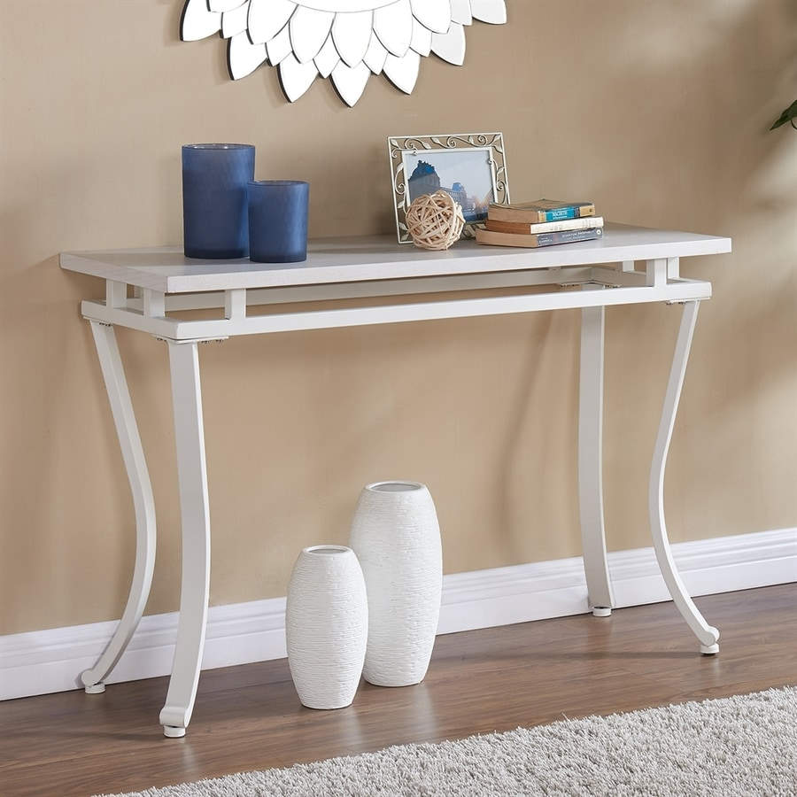 Boston Loft Furnishings Eilauver Antique white Console Table