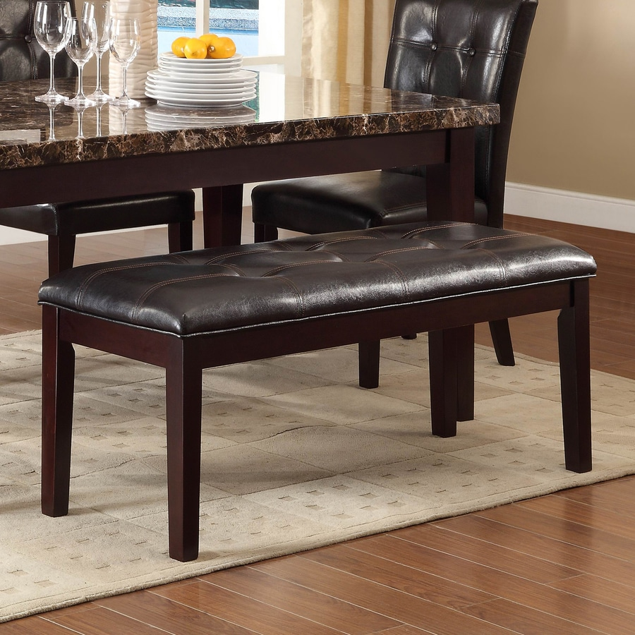 Homelegance Teague Black Dining Bench